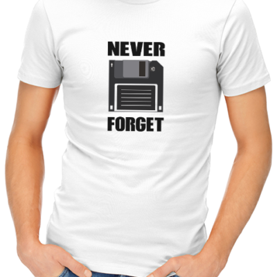 never forget mens tshirt white