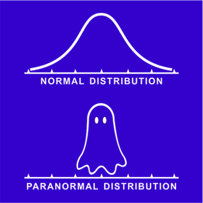 normal paranormal blue square