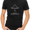 normal paranormal mens tshirt black