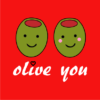 olive-you-red-tshirt