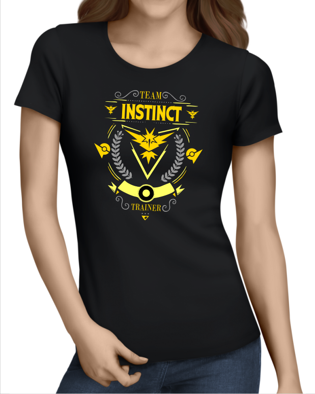 1b16cd80 Team Instinct - Pokemon Go - JuiceBubble T-Shirts