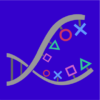 ps4 dna blue square