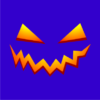 pumpkin-smile-halloween-t-shirt-royal-blue