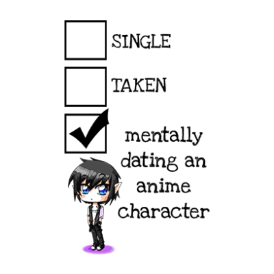 relationship status anime white square