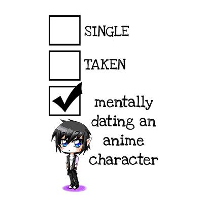 relationship status anime white square