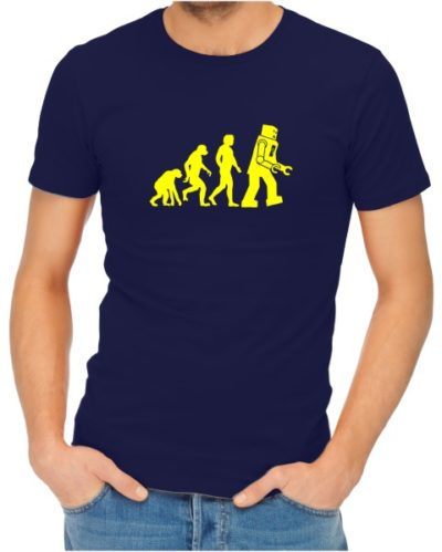 robot-evolution-on-mens-navy-shirt