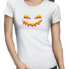 scary smile ladies tshirt white