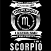 scorpion zodiac sign