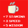 stamina speed red square