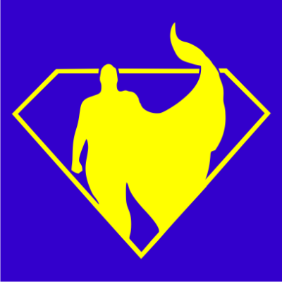 superman-silhouette-royal-blue