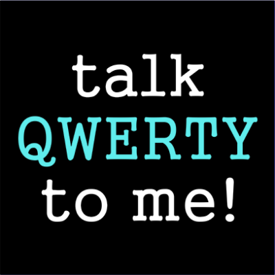 talk qwerty to me black square