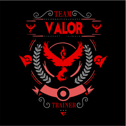 team valor black square