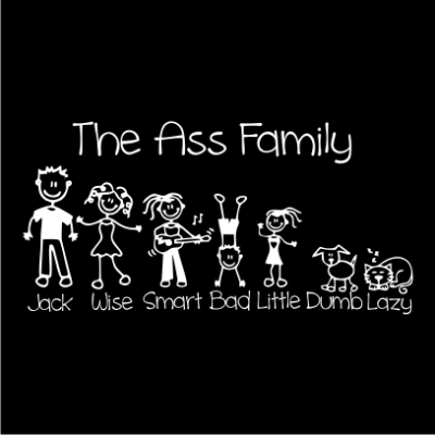 the-ass-family-black-square