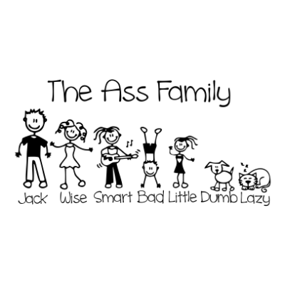 the-ass-family-white-square