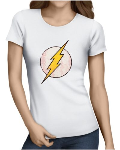 the flash ladies white shirt