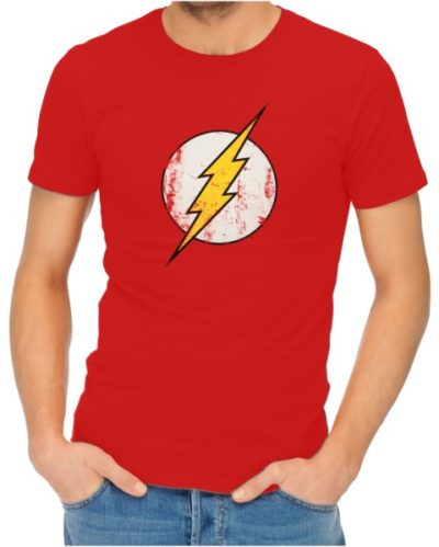 the flash mens red shirt