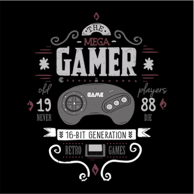the mega gamer black square