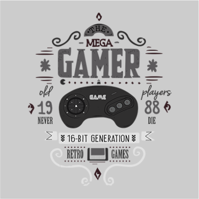 the mega gamer grey square