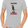 this person is an otaku mens tshirt grey
