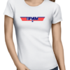 topmum ladies tshirt white