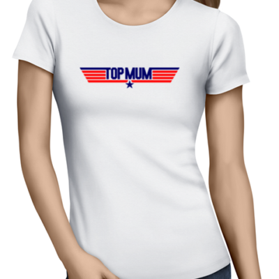 topmum ladies tshirt white