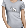 unresponsive browser ladies tshirt grey