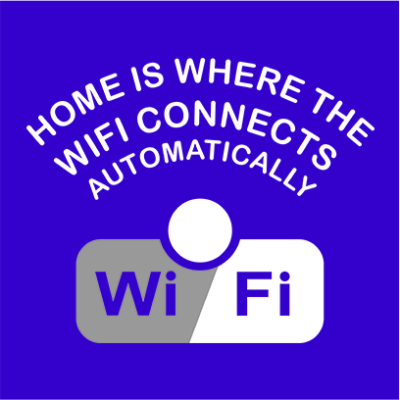 wifi blue square