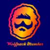 wolfpack member navy square