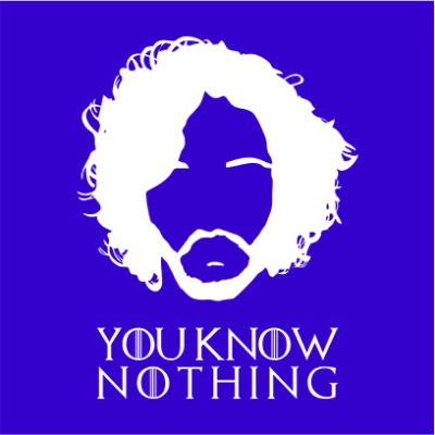 you know nothing blue square