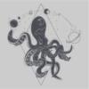 Space Octopus Grey