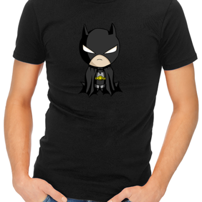 baby batman mens tshirt black