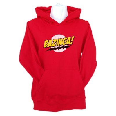 bazinga-hoodie-red