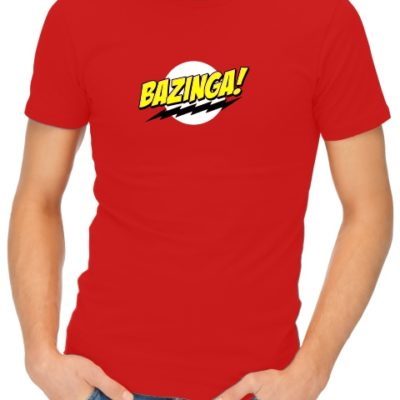 1d9456b4d7 OUR MOST POPULAR T-SHIRTS. Hot. bazinga-red bazinga-mens-short-sleeve