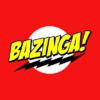 bazinga red square