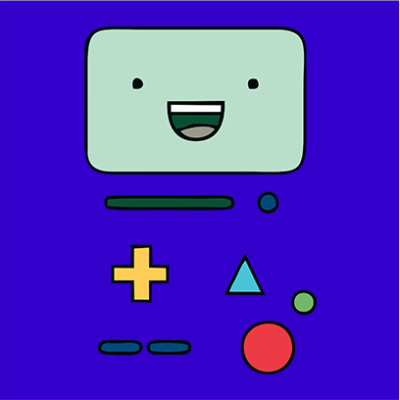 beemo blue square