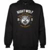 born to be wild black hoodie