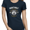 born to be wild ladies navy shirt