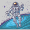 cosmonaut grey