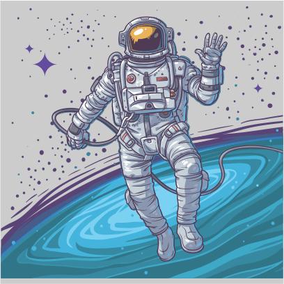 cosmonaut grey