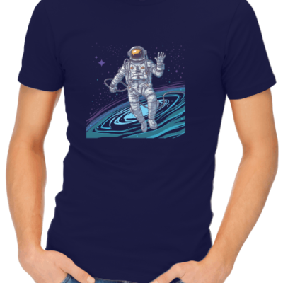 cosmonaut mens navy shirt