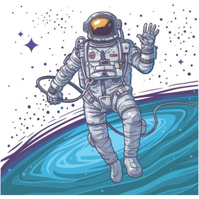 cosmonaut white