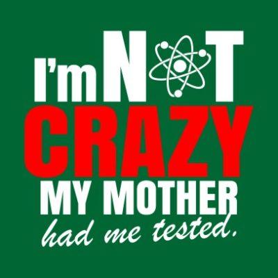 im not crazy bottle green