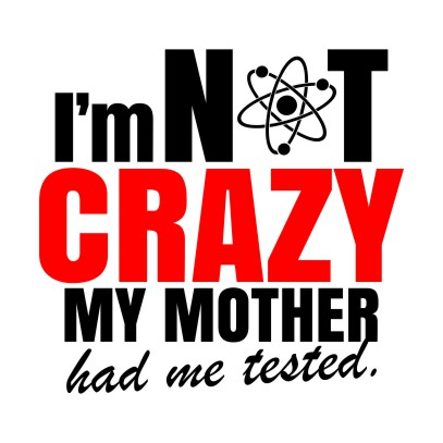 im not crazy white
