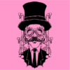 steampunk gentleman light pink