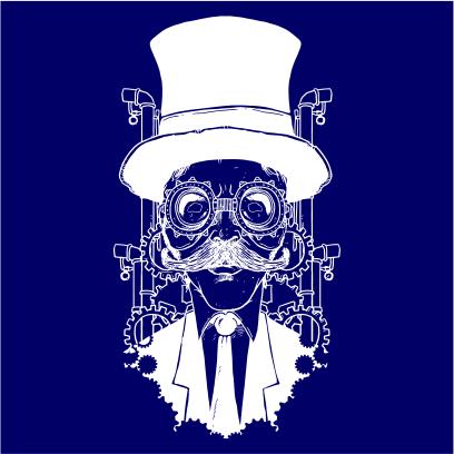 steampunk gentleman navy