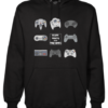escape reality black hoodie