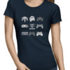 escape reality ladies navy shirt