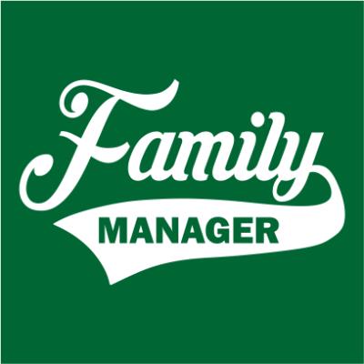 family manager bottle green