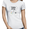 game over ladies white shirt