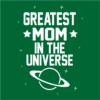 greatest mom bottle green